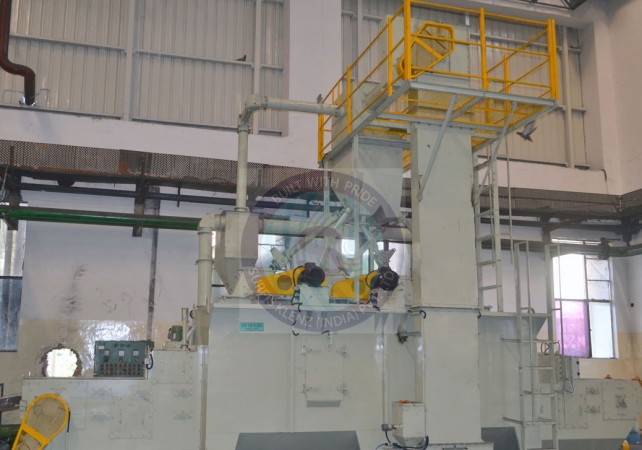 CONTINUOUS INLINE SHOT BLASTING EQUIPMENT
