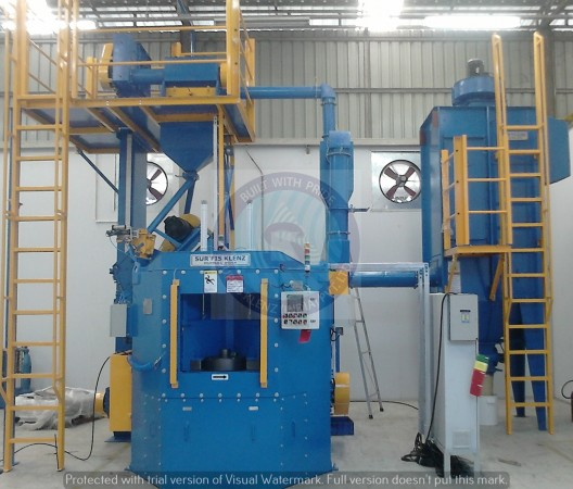 MULTI TABLE SHOT PEENING EQUIPMENT