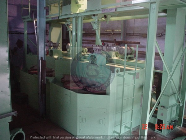 MULTI TABLE TYPE SHOT BLASTING MACHINE