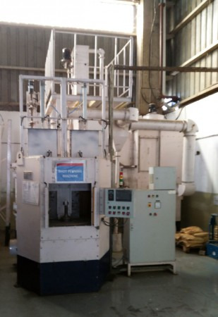 INDEXING TYPE AIR PEENING MACHINE
