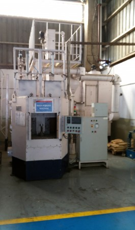 Servo Based Air Peening Machine