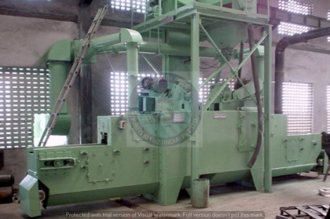 SPRING PEENING MACHINE