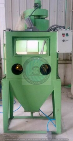 TABLE TYPE AIR BLASTING/HAND CABINET