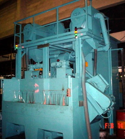 DUAL SHOT PEENING MACHINE