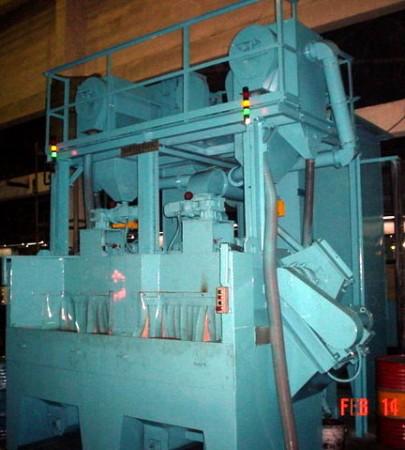 Dual Shot Peening Machine
